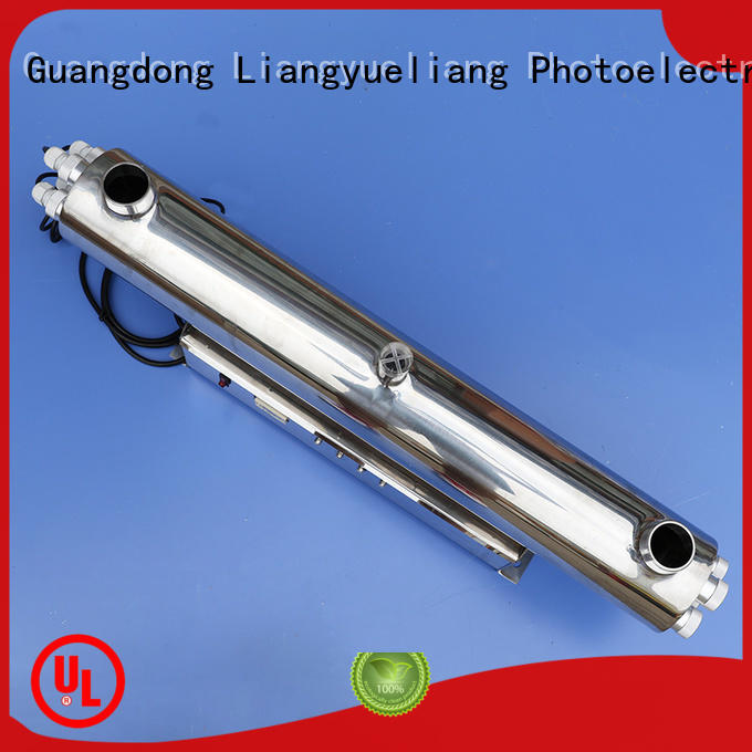 LiangYueLiang stable performance ultraviolet water sterilizer factory for pond