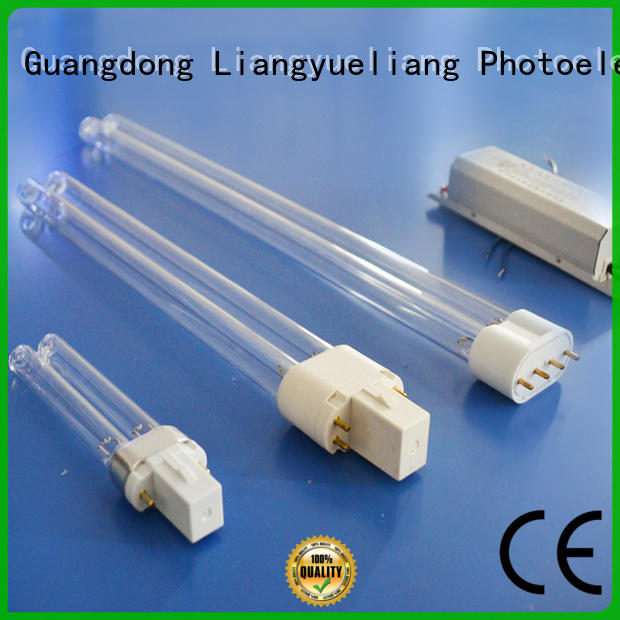 LiangYueLiang Stainless steel uv germicidal lamp suppliers energy saving for wastewater plant