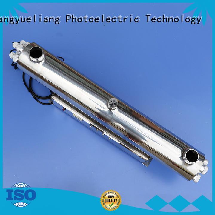 shop uv light water sterilizer steel Suppliers for pond
