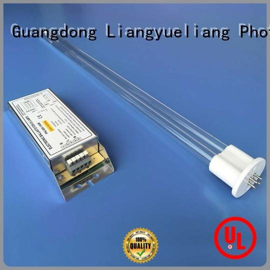 strong germicidal uv led tube for industry dirty water discharged LiangYueLiang