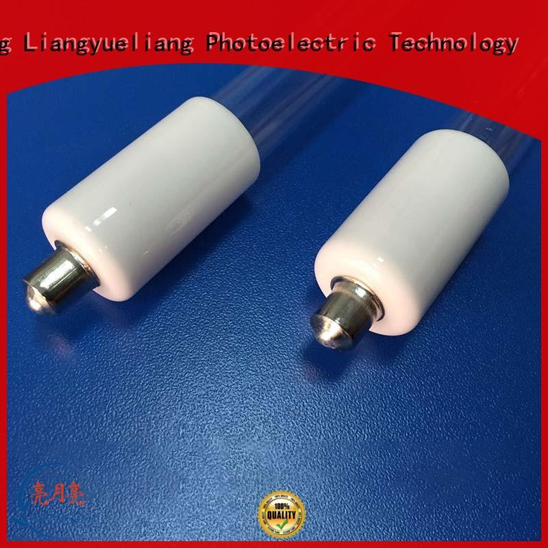 LiangYueLiang shaped germicidal lamp tube for wastewater plant
