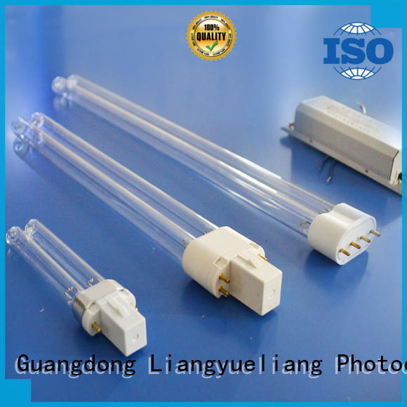 Compact type UVC germicidal lamp (H shaped)