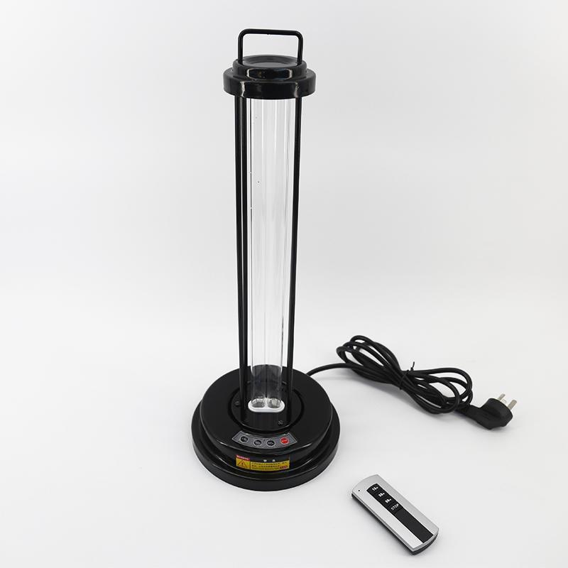 Portable Uv Sterilizer Light With Remote Control Room
