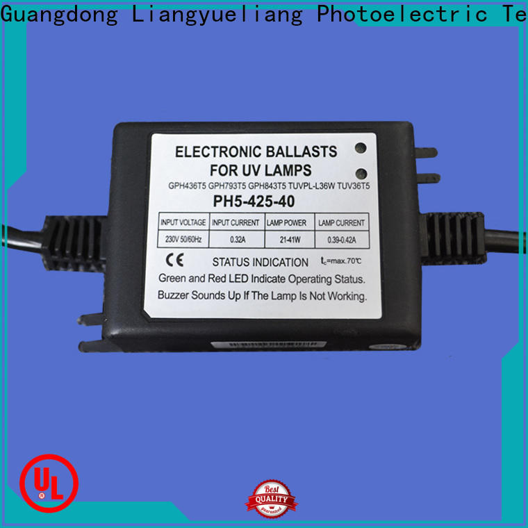 factory price ultraviolet light ballast preheat manufacturers for domestic