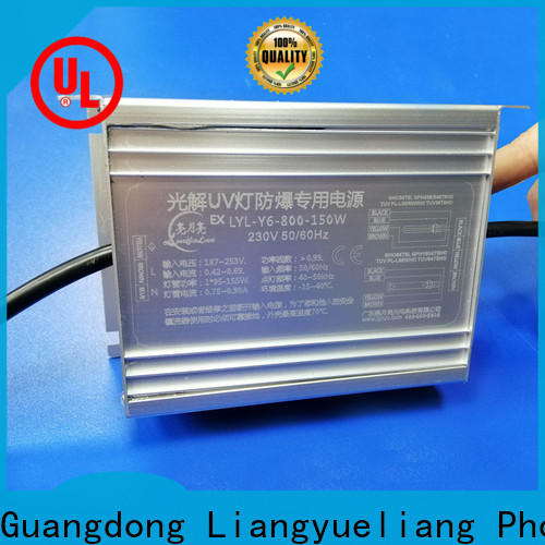 LiangYueLiang stable supply uv ballast circuit company for mining industy