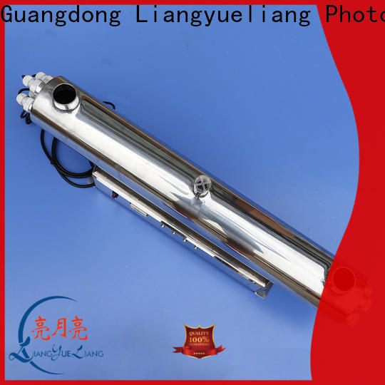 LiangYueLiang steel ultraviolet sterilizer stainless steel for SPA