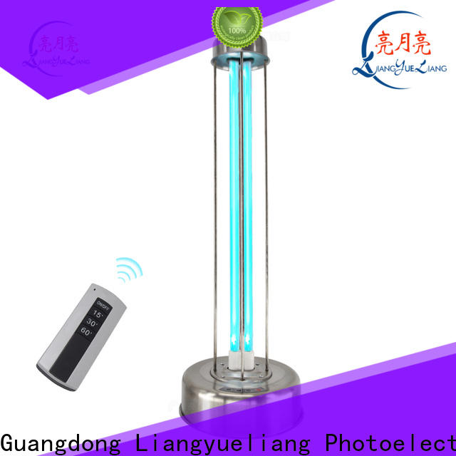 LiangYueLiang UVC germicidal uv lamp india auto-cleaning for industry dirty water discharged