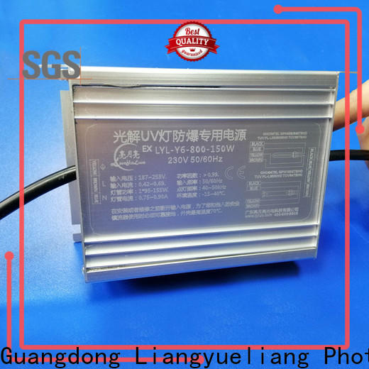 LiangYueLiang high quality germicidal ballast supply for waste water plant