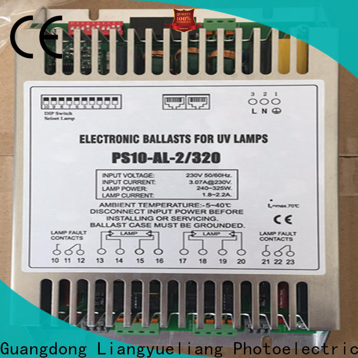 LiangYueLiang cheap uv ballast water treatment energy saving for waste water plant