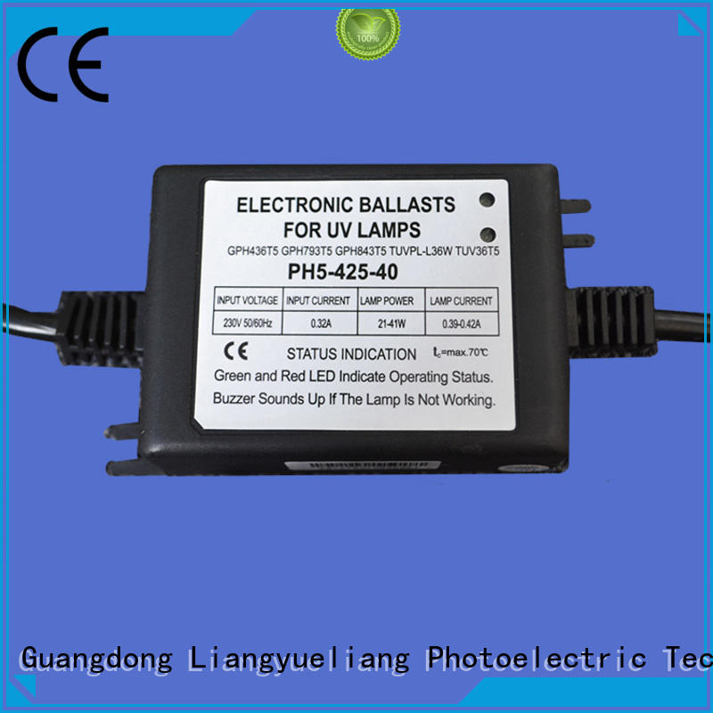 LiangYueLiang uv uv lamp ballast circuit a lower price for waste water plant