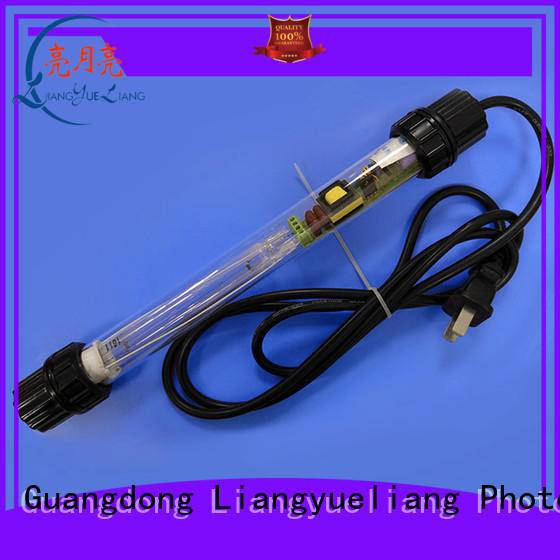 Submersible UV germicidal lamp