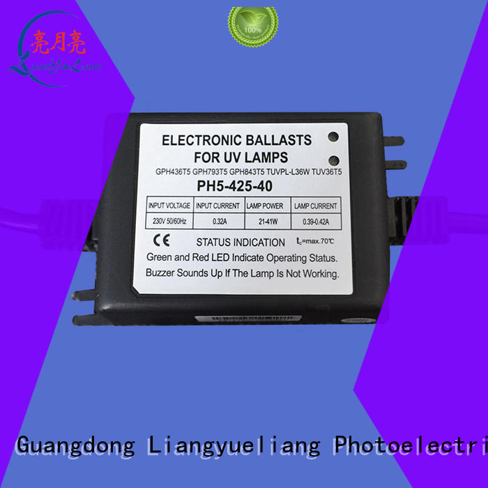LiangYueLiang preheat uv electronic ballast supply for waste water plant