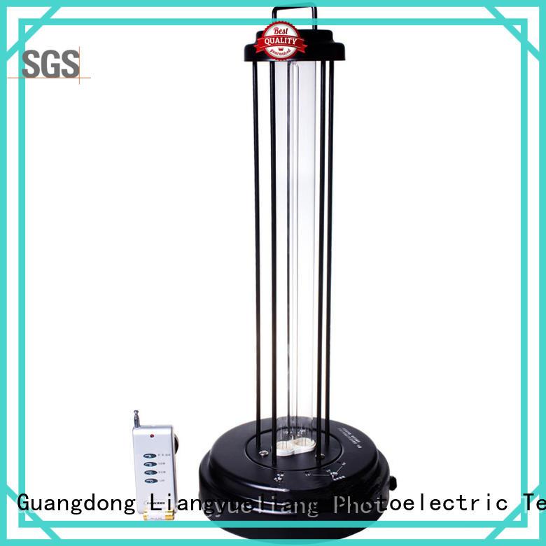 utility short wave uv light portable easy operation for hotel LiangYueLiang