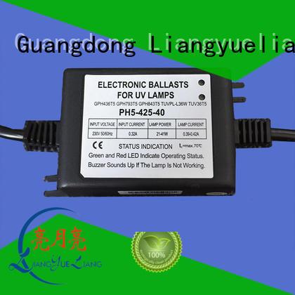 LiangYueLiang ph5 uv sterilizer ballast company for water recycling