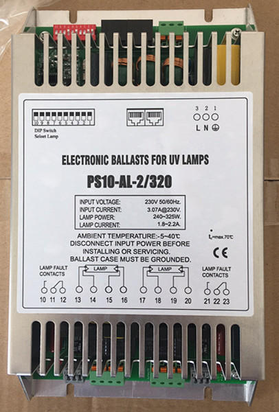 PS10 1 for 2 UV lamp 320W ballast