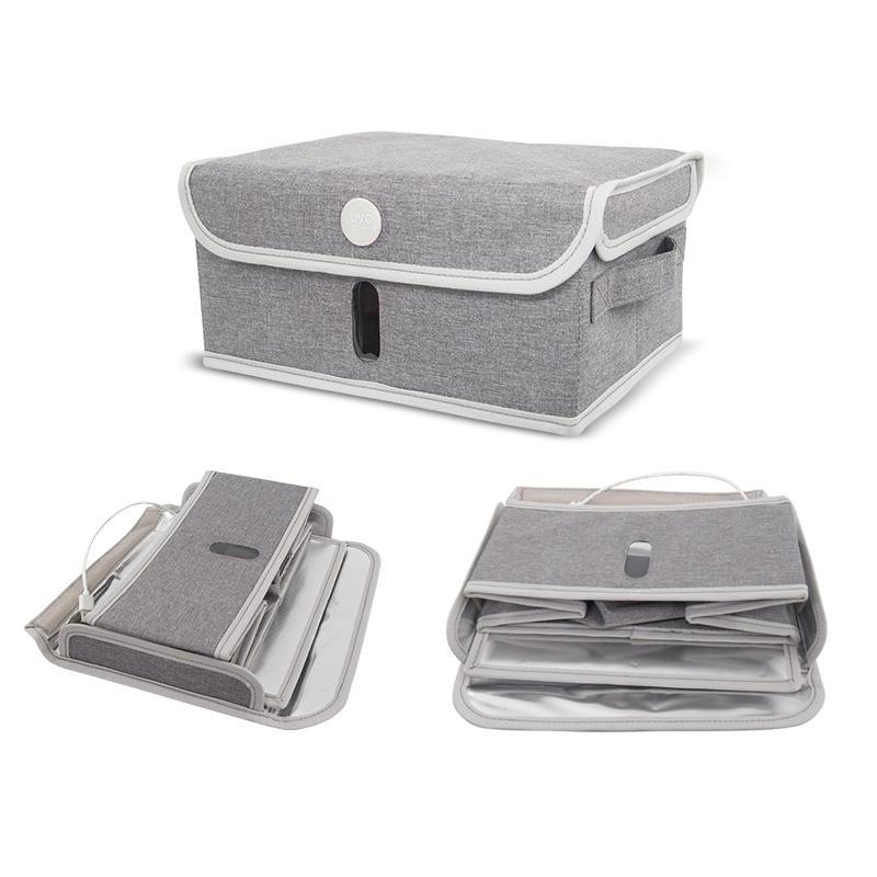 Travel uv box for packages uv sterilizer box phone sanitizer folded portable