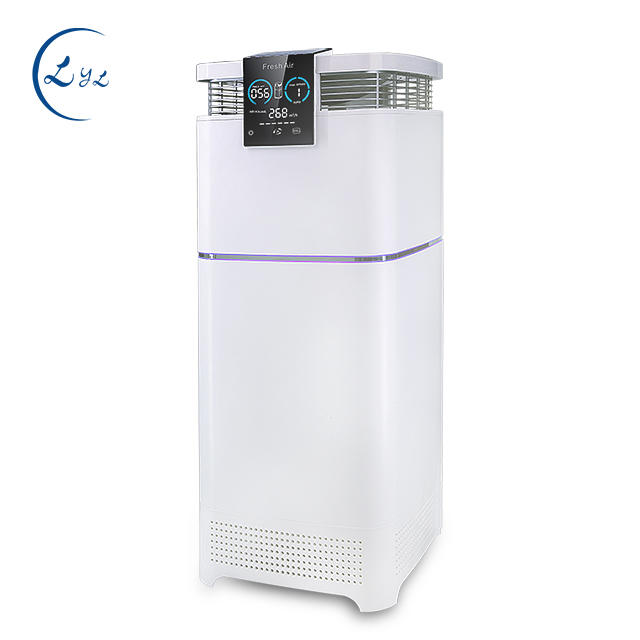 Vertical large air purifier