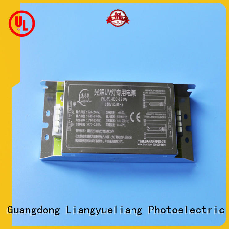 LiangYueLiang y6 ultraviolet ballast manufacturers for waste water plant