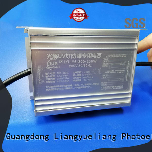 LiangYueLiang anti-rust uv lamp ballast manufacturers a lower price for mining industy