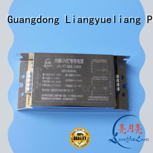 LiangYueLiang sereis uv electronic ballast manufacturers for waste water plant