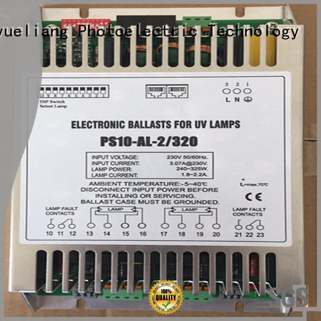 LiangYueLiang factory price uv ballast factory for waste water plant