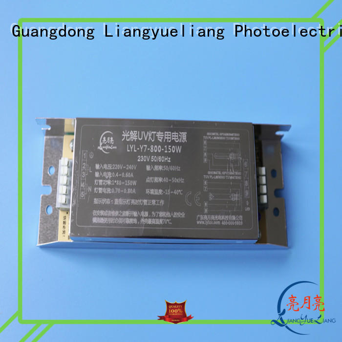 LiangYueLiang factory price ultraviolet light ballast for water recycling